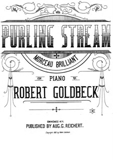 Purling Stream: Purling Stream by Robert Goldbeck