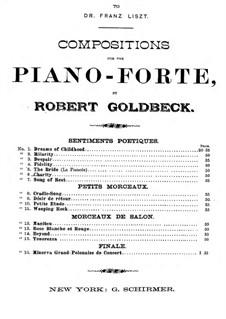 Sentiments Poetiques: Mildthätigkeit by Robert Goldbeck