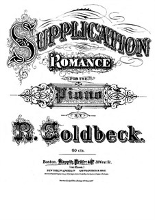 Supplication: Supplication by Robert Goldbeck
