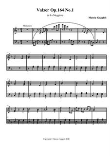 Valzer No.1 in Fa Maggiore, Op.164: Valzer No.1 in Fa Maggiore by Marzia Gaggioli