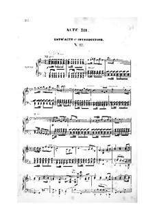 La vie parisienne (Pariser Leben): Akte III-V, für Stimmen und Klavier by Jacques Offenbach