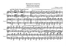 Die Fledermaus: Попурри на темы для фортепиано в 4 руки by Johann Strauss (Sohn)