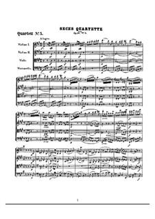 Quartett Nr.5 in A-Dur: Vollpartitur by Ludwig van Beethoven