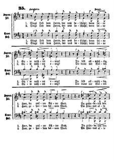 Singt Lob dem Herrn: Singt Lob dem Herrn by Franz Ignaz Danzi