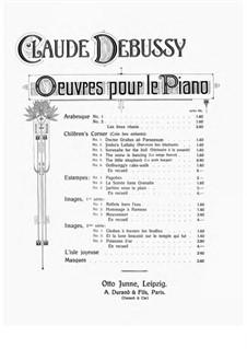 Set II, L.111: No.1 Cloches à travers le feuilles by Claude Debussy
