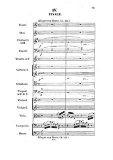 Sinfonie in F-Dur, Op.9: Teil IV by Hermann Götz