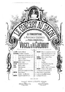 Teil III: Für Violine (oder Flöte, oder Cello) und Klavier – Solo Stimme by Wolfgang Amadeus Mozart
