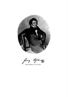 Die schöne Müllerin und Winterreise, D.795, 911: Die schöne Müllerin und Winterreise by Franz Schubert