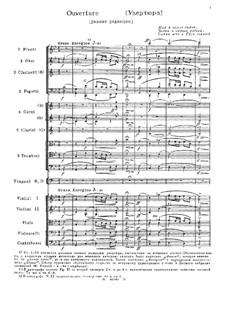 Ouvertüre: Frühere Version by Michail Glinka