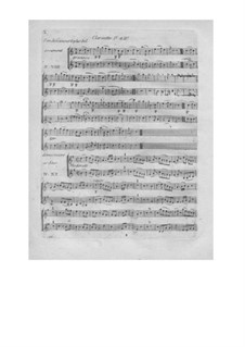 L'arbre enchanté (The Magic Tree), Wq.42: Klarinettenstimmen by Christoph Willibald Gluck