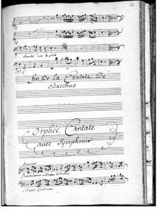 Orphée: Orphée by François de Lacroix