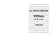 La belle Hélène (Die schöne Helena): Posaunenstimme by Jacques Offenbach