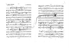 La belle Hélène (Die schöne Helena): Violastimme by Jacques Offenbach