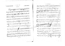 La belle Hélène (Die schöne Helena): Cellos- und Kontrabassstimme by Jacques Offenbach