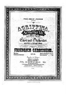 Agrippina, Op.45: Agrippina by Friedrich Gernsheim