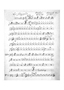 Les brigands (Die Banditen): Schlagzeugstimme by Jacques Offenbach