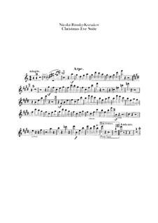 Die Nacht vor dem Christfeste. Suite: Harfestimme by Nikolai Rimsky-Korsakov