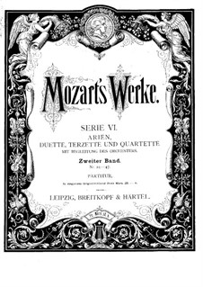 Mia speranza adorata, K.416: Mia speranza adorata by Wolfgang Amadeus Mozart