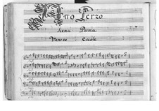 Ercole amante: Akt III by Pietro Francesco Cavalli