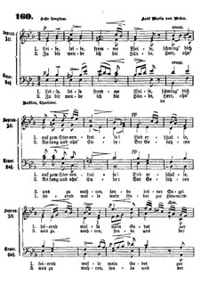 Akt II, Nr.8 Leise, leise, fromme Weise (Wie nahte mir der Schlummer): Für Chor by Carl Maria von Weber