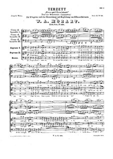 Ecco quel fiero istante, K.436: Ecco quel fiero istante by Wolfgang Amadeus Mozart