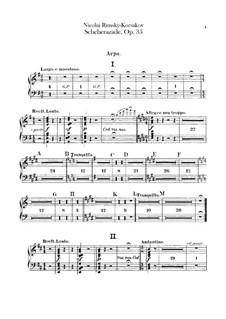 Scheherazade, Op.35: Harfestimme by Nikolai Rimsky-Korsakov