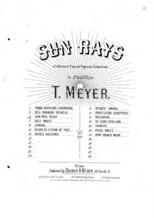 Sunrays Polka: Sunrays Polka by Charles Balmer