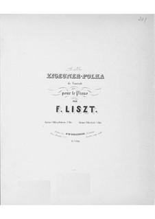 Zigeuner-Polka, für Klavier, Op.5: Zigeuner-Polka, für Klavier by August Conradi