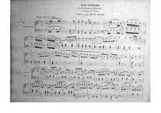 Bagatelle über tiroler Thema 'La bergère du valais': Bagatelle über tiroler Thema 'La bergère du valais' by Henri Herz