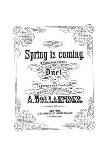 Frühlingsahnung: Frühlingsahnung by Alexis Holländer