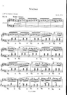 Nr.1 in Des-Dur: Für Klavier by Frédéric Chopin