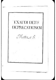 Exaudi Deus deprecationem: Exaudi Deus deprecationem by Michel Richard de Lalande