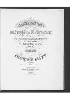 Illustrationen über Themen aus 'Der Prophet' von Meyerbeer, S.414: Nr.1 Gebet by Franz Liszt