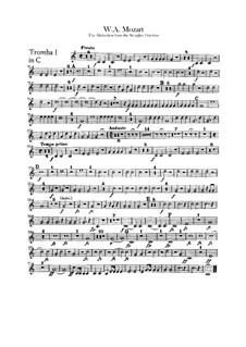 Ouvertüre: Trompetenstimmen by Wolfgang Amadeus Mozart