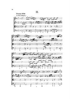 Hortus Musicus. Sonaten und Suiten für Streicher und Basso Continuo: Sonate und Suite Nr.3 in C-Dur by Johann Adam Reincken