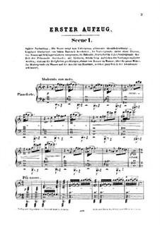 Feramors: Akt I, für Stimmen und Klavier by Anton Rubinstein