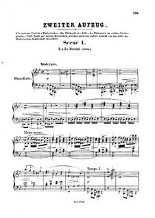 Feramors: Akt II, für Stimmen und Klavier by Anton Rubinstein