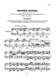 Feramors: Akt III, für Stimmen und Klavier by Anton Rubinstein