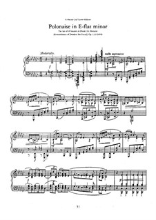 Remembrance of Dresden, Op.118: No.6 Polonaise by Anton Rubinstein