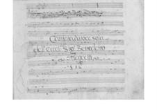 Miro la tortorella für Stimme und Basso Continuo, SF A189: Miro la tortorella für Stimme und Basso Continuo by Benedetto Marcello