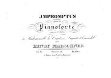 Zwölf Impromptus, Op.23: Zwölf Impromptus by Heinrich Marschner