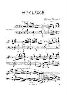 Polacca (Polonaise) Nr.2, Op.48: Polacca (Polonaise) Nr.2 by Giuseppe Martucci