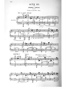Cendrillon (Cinderella): Akt III. Bearbeitung für Stimmen und Klavier by Jules Massenet