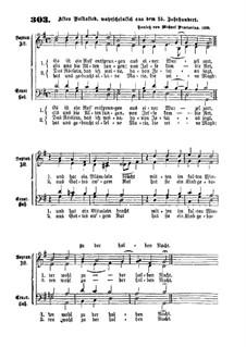 Es ist ein Ros entsprungen: Singpartitur (G-Dur) by Michael Praetorius