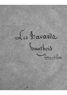 Les bavards (Die Schwätzer): Oboenstimme by Jacques Offenbach