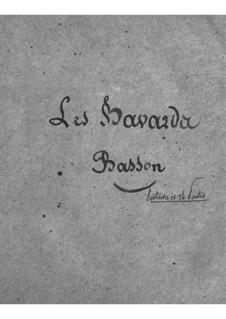 Les bavards (Die Schwätzer): Fagottenstimme by Jacques Offenbach