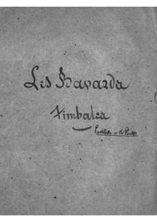 Les bavards (Die Schwätzer): Paukenstimme by Jacques Offenbach
