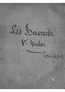 Les bavards (Die Schwätzer): Violinstimme I by Jacques Offenbach