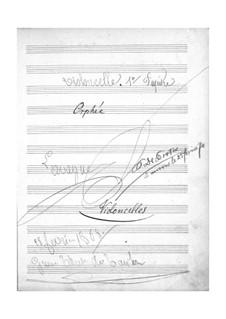 Vollständiger Oper: Cellostimmen by Jacques Offenbach