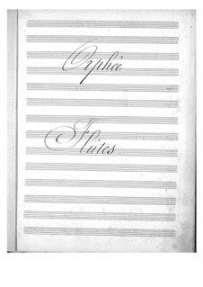 Vollständiger Oper: Flötenstimmen by Jacques Offenbach